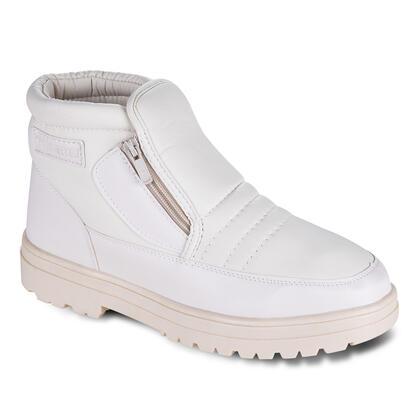 Hřejivé zimní boty béžové