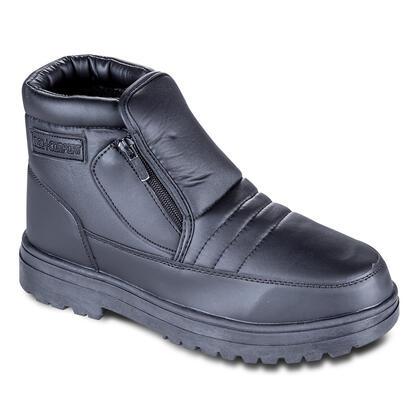 Hřejivé zimní boty černé