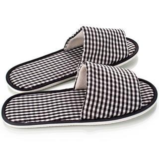 Pantofle pro hosty i návštěvy - káro