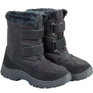 Zimní boty s hřejivým beránkem černé