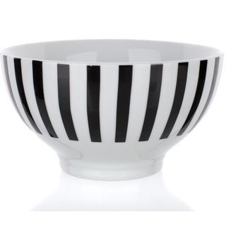 Keramická miska 13,9 cm černý proužek, BANQUET