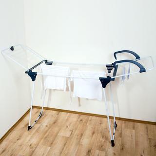 Rozkládací sušák na prádlo se sušákem na radiátor