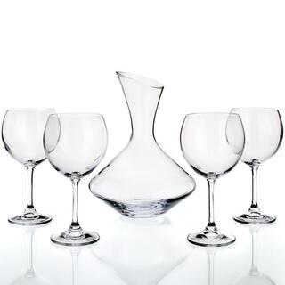 5dílný set na víno Crystal, BANQUET