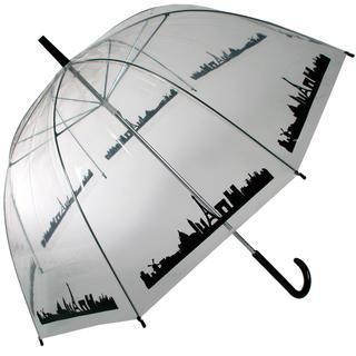 Dámský deštník průhledný Paříž