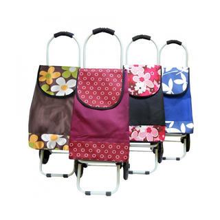 Nákupní taška na kolečkách různé barvy