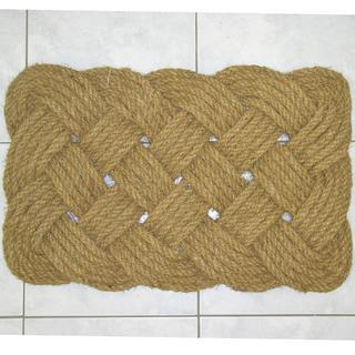 Proplétaná kokosová rohožka