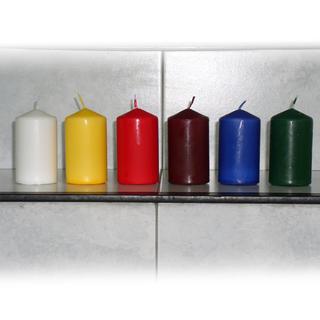 Svíčka válec 4 ks