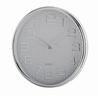Nástěnné hodiny DIAMONDS bílé