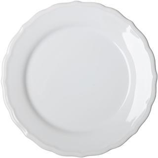 Keramický mělký talíř s plastickým zdobením