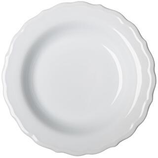 Keramický hluboký talíř s plastickým zdobením