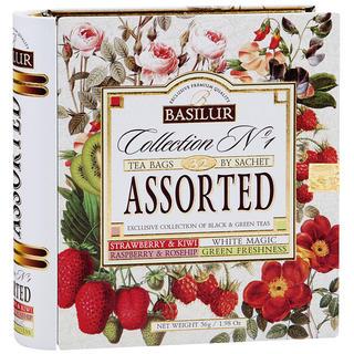 Basilur tea - Kniha Variace kombi 32 sáčků