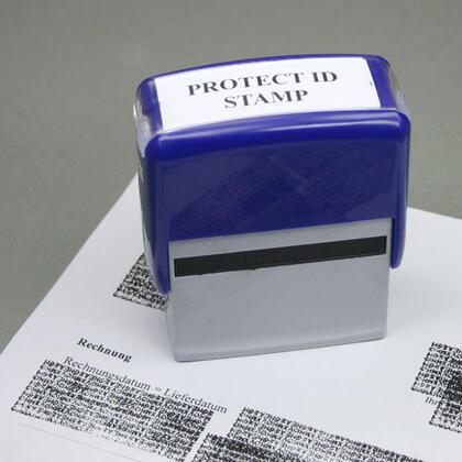 Krycí razítko na soukromé dokumenty
