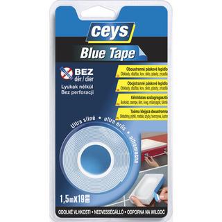 Oboustranná lepící páska Blue Tape 1,5 m