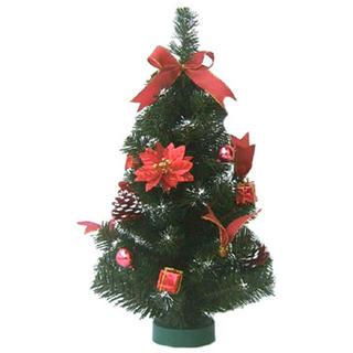 Umělý vánoční stromek zdobený 45 cm