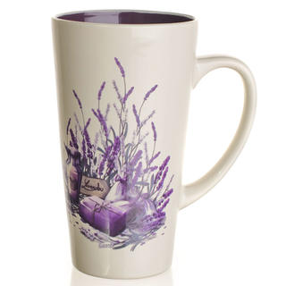Keramický hrnek vysoký 450 ml Lavender, BANQUET