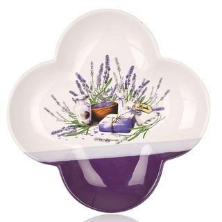 Servírovací mísa Lavender čtyřlístek 26 cm, BANQUET