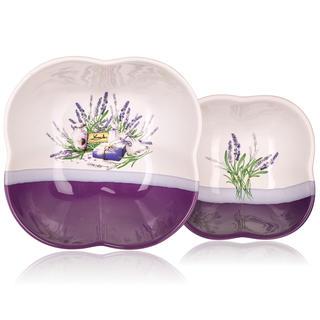 Servírovací mísy Lavender 2 ks, BANQUET