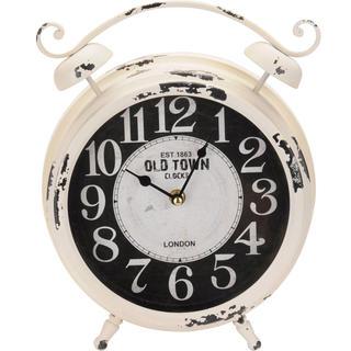 Stolní hodiny Vintage krémové