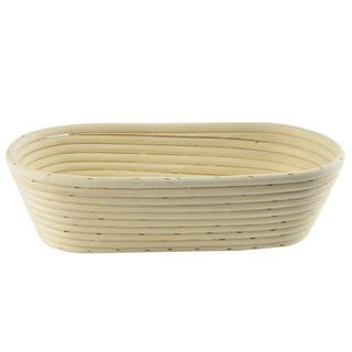 Ratanová ošatka na přípravu chleba oválná