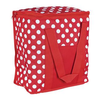 Chladící taška 20 l červený puntík