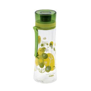 Sportovní láhev Květy 480 ml zelená
