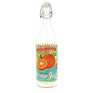 Láhev s patentním úzávěrem 1 l Pomeranč