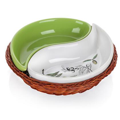 Keramická servírovací miska 2dílná Olives, BANQUET
