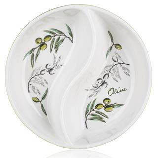 Keramická servírovací mísa kulatá Olives, BANQUET