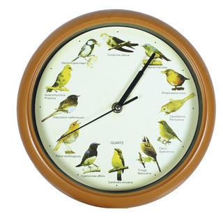 Hodiny se zvuky ptáčků