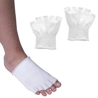 Silikonové návleky pro oddělení prstů a ochranu palce