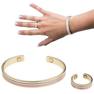 Magnetický náramek s prstýnkem