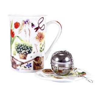Keramická čajová sada Garden, BANQUET