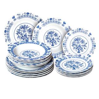 Banquet Porcelánová sada talířů ONION 18 ks