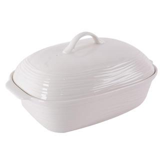Porcelánový pekáč s víkem 36,5 x 25,5 cm