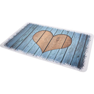 Plastové prostírání RETRO 43 x 28 cm, srdce