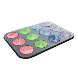Forma na muffiny plus 72 papírových košíčků