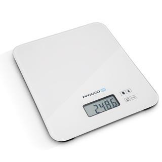 Kuchyňská váha Philco s LCD displejem bílá