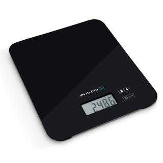 Kuchyňská váha Philco s LCD displejem černá