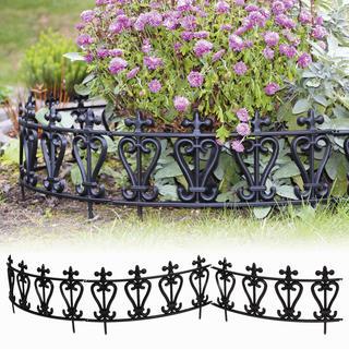 Ozdobný plot na zahrádku 6 dílů