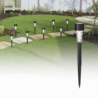 Solární lampy na zahradu 8 ks
