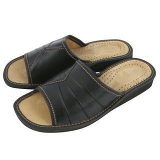 Dámské domácí pantofle černé