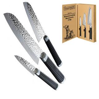 Ocelové nože v dárkovém balení 3 ks