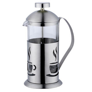 Nerezová konvička na čaj a kávu French Press 350 ml