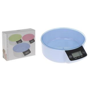 Digitální kuchyňská váha modrá