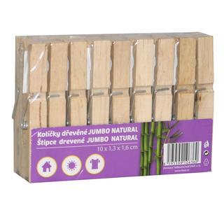 Dřevěné kolíčky 18 kusů