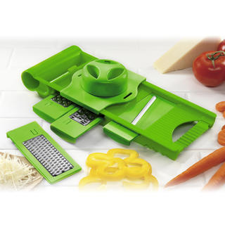Multifunkční struhadlo 5v1 Culinaria, BANQUET zelené