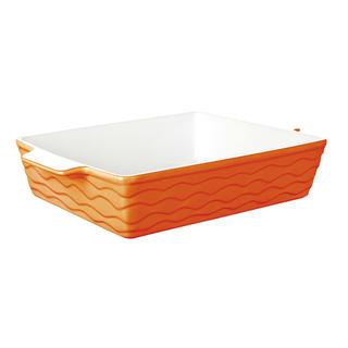 Keramická zapékací mísa obdelníková BANQUET Orange 32 x 21 cm