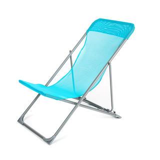 Skládací plážové křesílko CARIBIC modré