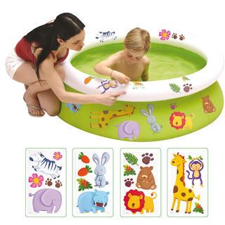 Dětský bazén s obtisky