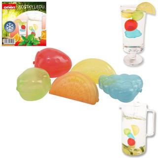 Ledové kostky ve tvaru ovoce 20 ks